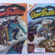Tebeos: EL LLANERO SOLITARIO - LOTE DE 10 CÓMICS - ORIGINALES PUBLICADOS POR EDITORIAL NOVARO MEXICO. Lote 178161982