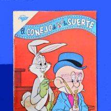 Tebeos: EL CONEJO DE LA SUERTE , BUGS BUNNY Nº 158, 1962 - UNA REVISTA SEA, EDITORIAL NOVARO, ORIGINAL. Lote 178221620