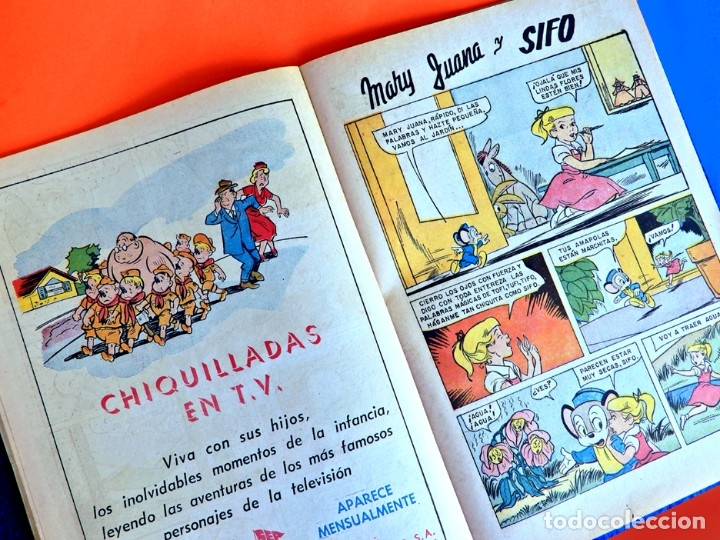 Tebeos: EL CONEJO DE LA SUERTE , BUGS BUNNY Nº 158, 1962 - UNA REVISTA SEA, EDITORIAL NOVARO, ORIGINAL - Foto 5 - 178221620