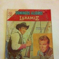 Tebeos: LARAMIE -Nº.522 -AÑO 1964. Lote 178223551