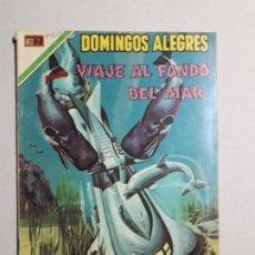 Tebeos: DOMINGOS ALEGRES N° 838 - VIAJE AL FONDO DEL MAR - ORIGINAL EDITORIAL NOVARO. Lote 178267756