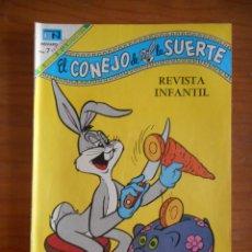 Tebeos: EL CONEJO DE LA SUERTE. EDITORIAL NOVARO, Nº 312. AÑO 1969. BUEN ESTADO. Lote 178360498