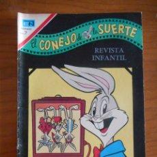 Tebeos: EL CONEJO DE LA SUERTE. EDITORIAL NOVARO, Nº 331. AÑO 1970. BUEN ESTADO. Lote 178361442