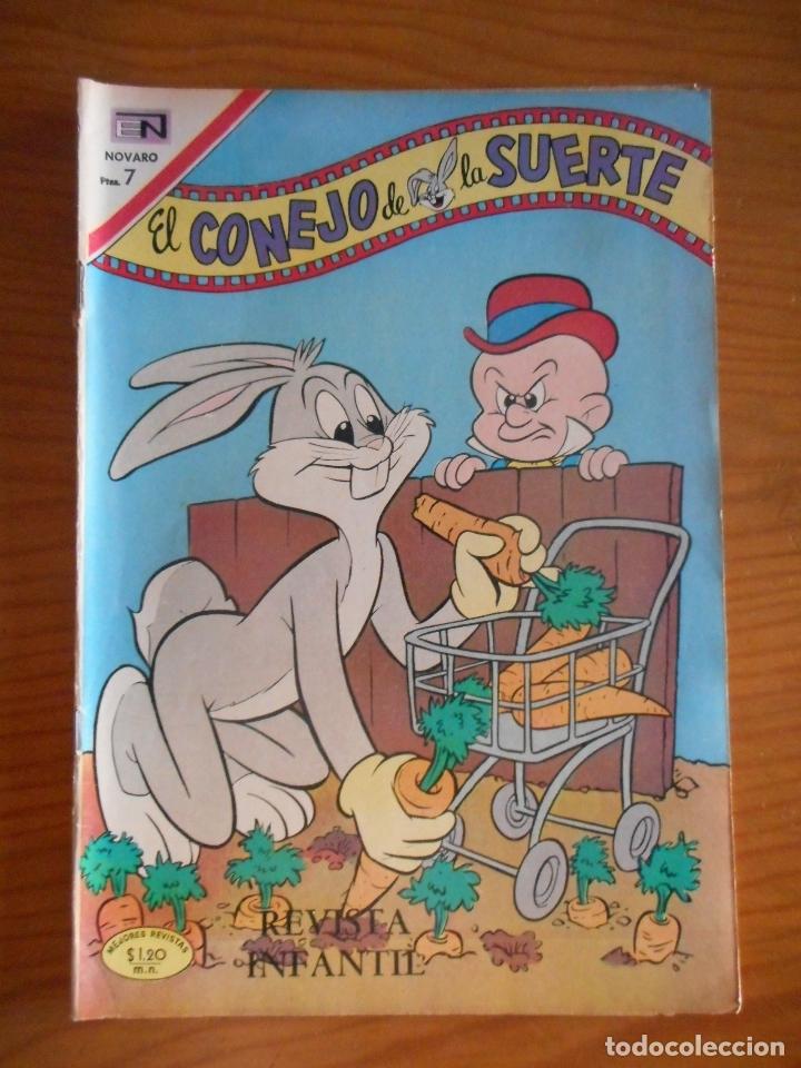 EL CONEJO DE LA SUERTE. EDITORIAL NOVARO, Nº 333. AÑO 1970. BUEN ESTADO (Tebeos y Comics - Novaro - El Conejo de la Suerte)