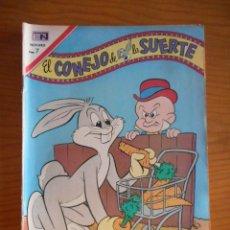 Tebeos: EL CONEJO DE LA SUERTE. EDITORIAL NOVARO, Nº 333. AÑO 1970. BUEN ESTADO. Lote 178361771