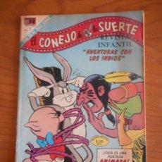 Tebeos: EL CONEJO DE LA SUERTE. EDITORIAL NOVARO, Nº 358. AÑO 1971. BUEN ESTADO. Lote 178361970