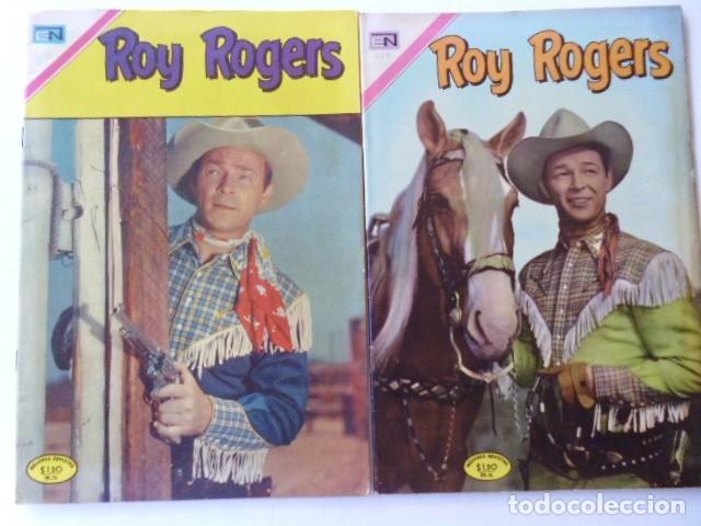 LOTE DE 9 COMICS DE ROY ROGERS - ENVÍO GRATIS, PUBLICADOS POR EDIT. NOVARO MEXICO (Tebeos y Comics - Novaro - Roy Roger)