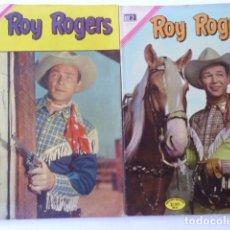 Tebeos: LOTE DE 9 COMICS DE ROY ROGERS - ENVÍO GRATIS, PUBLICADOS POR EDIT. NOVARO MEXICO. Lote 178391147