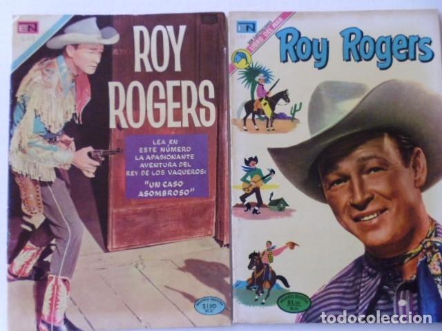 Tebeos: LOTE DE 9 COMICS DE ROY ROGERS - ENVÍO GRATIS, PUBLICADOS POR EDIT. NOVARO MEXICO - Foto 2 - 178391147