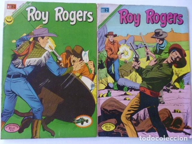 Tebeos: LOTE DE 9 COMICS DE ROY ROGERS - ENVÍO GRATIS, PUBLICADOS POR EDIT. NOVARO MEXICO - Foto 3 - 178391147