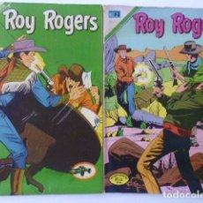 Tebeos: ROY ROGERS - LOTE DE 9 CÓMICS PUBLICADOS POR EDIT. NOVARO MEXICO. Lote 178391147