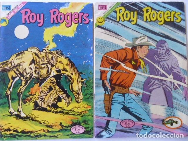 Tebeos: LOTE DE 9 COMICS DE ROY ROGERS - ENVÍO GRATIS, PUBLICADOS POR EDIT. NOVARO MEXICO - Foto 4 - 178391147