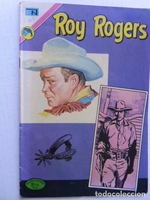 Tebeos: LOTE DE 9 COMICS DE ROY ROGERS - ENVÍO GRATIS, PUBLICADOS POR EDIT. NOVARO MEXICO - Foto 5 - 178391147
