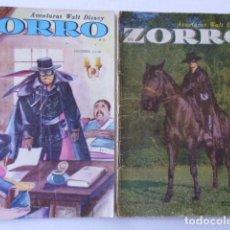 Tebeos: LOTE DE 10 COMICS DE EL ZORRO - ENVÍO GRATIS POR DHL, PUBLICADOS POR EDIT. ZIG ZAG CHILE - COLOMBIA. Lote 178391658