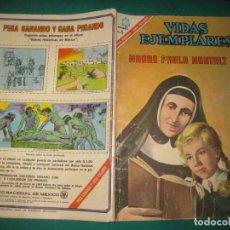 Tebeos: VIDAS EJEMPLARES Nº 235. MADRE PAULA MONTALT. EDITORIAL NOVARO 1966.. Lote 178582152