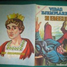 Tebeos: VIDAS EJEMPLARES Nº 122. SAN HERMENEGILDO . EDITORIAL NOVARO 1962.. Lote 178582991
