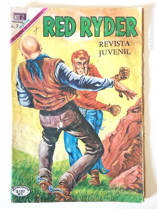 RED RYDER NÚMERO 212 - NOVARO AÑO 1969 (Tebeos y Comics - Novaro - Red Ryder)