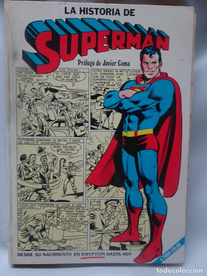 COMIC LA HISTORIA DE SUPERMAN CAIXA D'ESTALVIS DE BARCELONA NOVARO 1979 , VER FOTOS (Tebeos y Comics - Novaro - Superman)