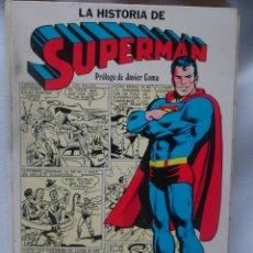 Tebeos: COMIC LA HISTORIA DE SUPERMAN CAIXA D'ESTALVIS DE BARCELONA NOVARO 1979 , VER FOTOS. Lote 178640210
