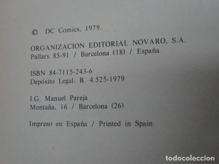 Tebeos: COMIC LA HISTORIA DE SUPERMAN CAIXA DESTALVIS DE BARCELONA NOVARO 1979 , VER FOTOS - Foto 4 - 178640210