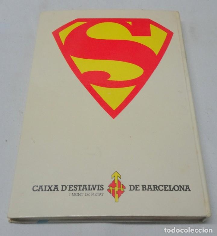 Tebeos: COMIC LA HISTORIA DE SUPERMAN CAIXA DESTALVIS DE BARCELONA NOVARO 1979 , VER FOTOS - Foto 8 - 178640210