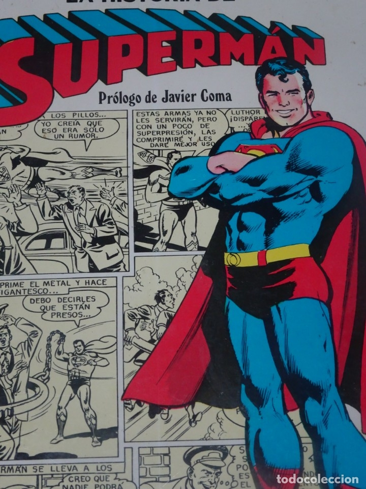Tebeos: COMIC LA HISTORIA DE SUPERMAN CAIXA DESTALVIS DE BARCELONA NOVARO 1979 , VER FOTOS - Foto 10 - 178640210