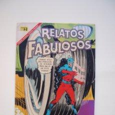 Tebeos: RELATOS FABULOSOS Nº 97 - ATOM, EL CASO DE LOS ENMASCARADOS - NOVARO 1967. Lote 178647708