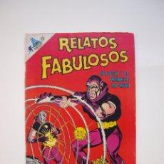 Tebeos: RELATOS FABULOSOS Nº 105 - ECLIPSO Y EL PRÍNCIPE RA-MAN - SERIE CIENCIA-FICCIÓN NOVARO 1968. Lote 178660300