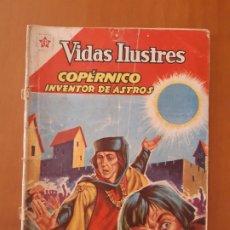 Tebeos: COPÉRNICO, INVENTOR DE ASTROS. VIDAS ILUSTRES Nº 74, 1 MARZO 1962.. Lote 178662816