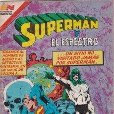 Tebeos: SUPERMAN. EDITORIAL NOVARO. SERIE AVESTRUZ. NÚMERO 92. ABRIL DE 1982.. Lote 178665165
