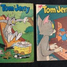 Tebeos: LOTE TEBEO CÓMIC TOM Y JERRY EDITORIAL NOVARO NÚMERO 104 Y 225. Lote 178665257