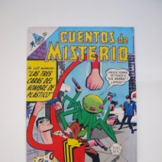 Tebeos: CUENTOS DE MISTERIO Nº 132 - LAS TRES CARAS DEL HOMBRE DE PLÁSTICO - CIENCIA-FICCIÓN NOVARO 1968. Lote 178671307