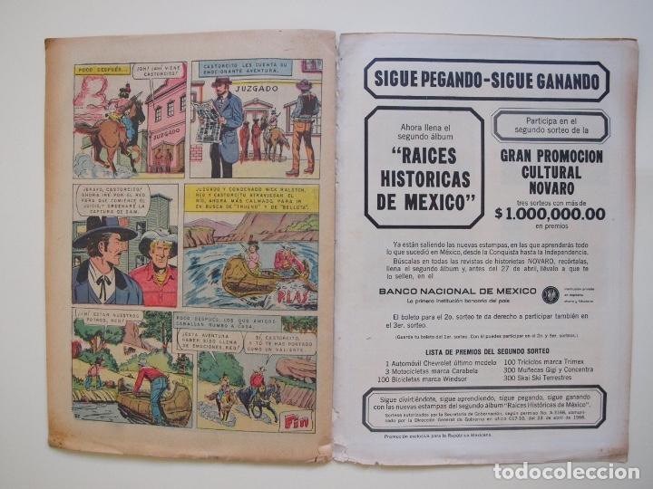 Tebeos: RED RYDER Nº 150 - LA TORMENTA DE ARENA - NOVARO 1967 - Foto 4 - 178677511