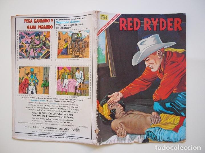 Tebeos: RED RYDER Nº 150 - LA TORMENTA DE ARENA - NOVARO 1967 - Foto 6 - 178677511