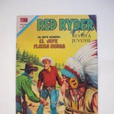 Tebeos: RED RYDER Nº 225 - EL JEFE FLECHA NEGRA - NOVARO 1970. Lote 178678571