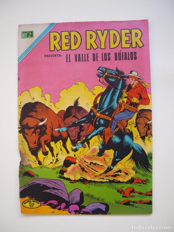RED RYDER Nº 263 - EL VALLE DE LOS BÚFALOS - NOVARO 1971 (Tebeos y Comics - Novaro - Red Ryder)