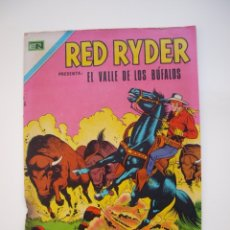 Tebeos: RED RYDER Nº 263 - EL VALLE DE LOS BÚFALOS - NOVARO 1971. Lote 178681981