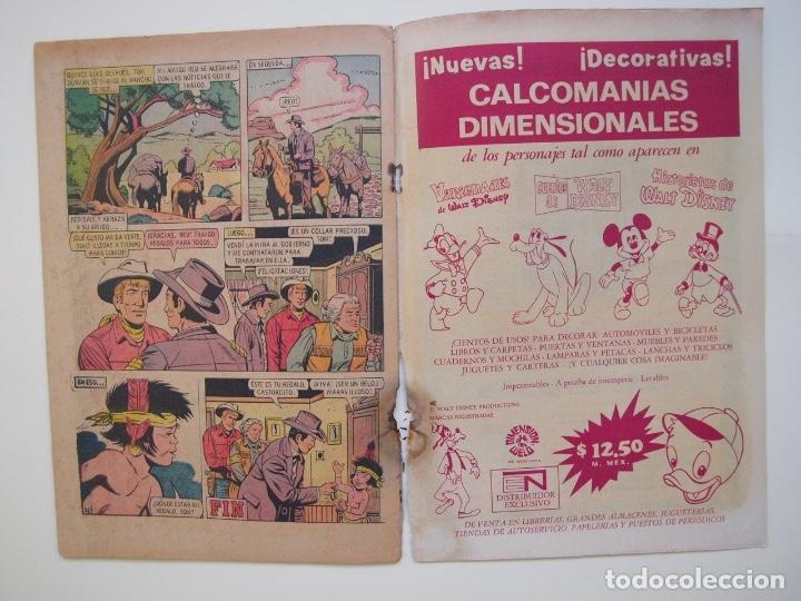 Tebeos: RED RYDER Nº 263 - EL VALLE DE LOS BÚFALOS - NOVARO 1971 - Foto 4 - 178681981