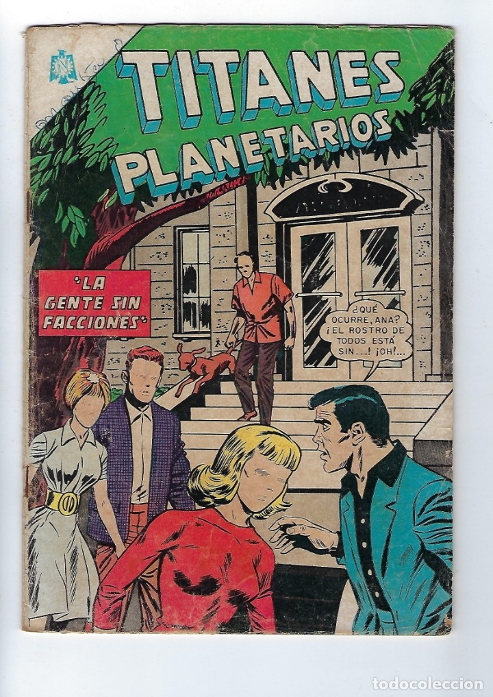 TITANES PLANETARIOS - AÑO XIII - Nº 228, 15 DE MARZO DE 1966 *NOVARO MÉXICO - EDICIONES RECREATIVAS* (Tebeos y Comics - Novaro - Otros)