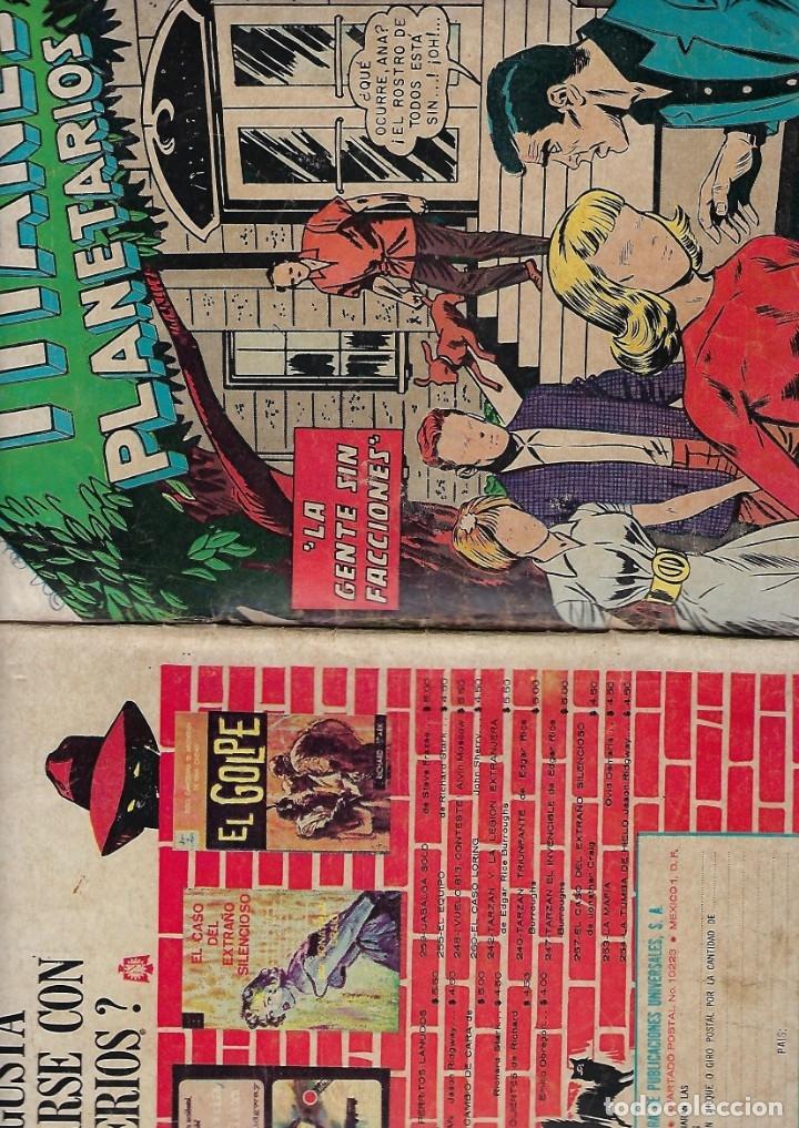 Tebeos: TITANES PLANETARIOS - AÑO XIII - Nº 228, 15 DE MARZO DE 1966 *NOVARO MÉXICO - EDICIONES RECREATIVAS* - Foto 3 - 178846397