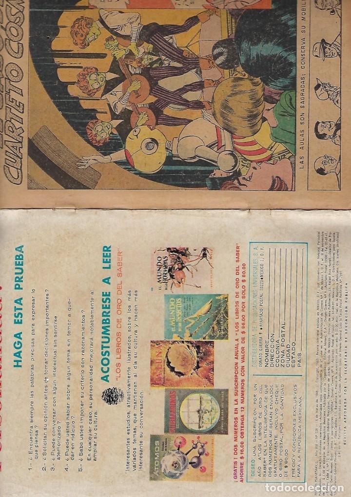 Tebeos: TITANES PLANETARIOS - AÑO XIII - Nº 228, 15 DE MARZO DE 1966 *NOVARO MÉXICO - EDICIONES RECREATIVAS* - Foto 4 - 178846397