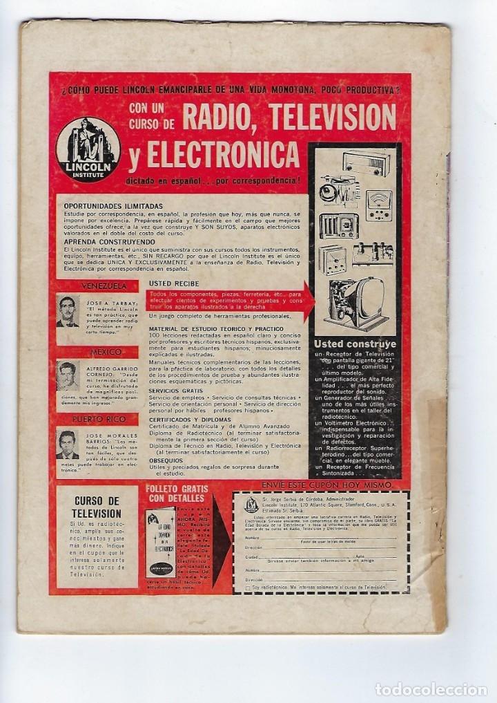 Tebeos: TITANES PLANETARIOS - AÑO X - Nº 153, 1º DE FEBRERO DE 1963 *NOVARO MÉXICO - EDICIONES RECREATIVAS* - Foto 2 - 178851932