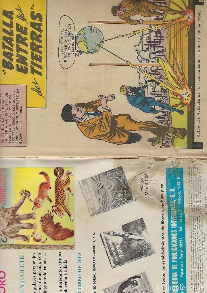 Tebeos: TITANES PLANETARIOS - AÑO X - Nº 153, 1º DE FEBRERO DE 1963 *NOVARO MÉXICO - EDICIONES RECREATIVAS* - Foto 4 - 178851932