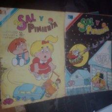 Tebeos: SAL Y PIMIENTA COMICS NOVARO NÚMERO 165, 168,COMICS. Lote 178904062