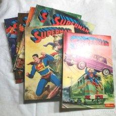 Tebeos: LOTE 7 TOMOS SUPERMAN N° 19, 24, 26, 27, 49, 50 Y 51 AÑO 1976. Lote 179000926