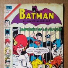 Tebeos: BATMAN EL HOMBRE MURCIÉLAGO N°602 (NOVARO, 1971). 36 PÁGINAS A COLOR.. Lote 179020766