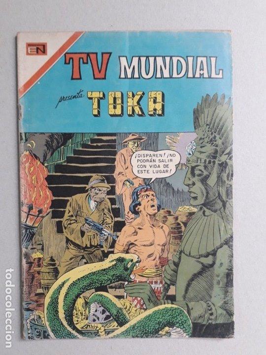 TV MUNDIAL N° 114 - ORIGINAL EDITORIAL NOVARO (Tebeos y Comics - Novaro - Otros)
