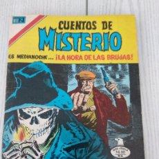 Tebeos: MÉXICO NOVARO RARÍSIMO, CUENTOS DE MISTERIO Nº2-303 1980, SERIE ÁGUILA. Lote 179065782