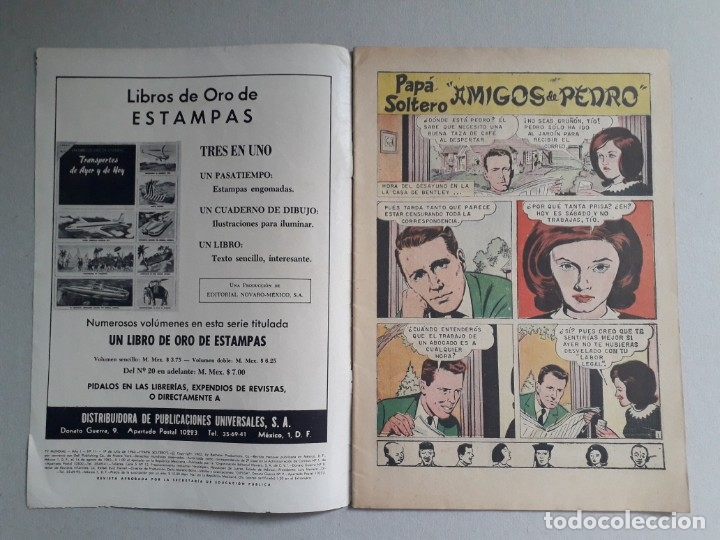 Tebeos: Tv mundial n° 11 - original editorial Novaro - Foto 2 - 179066096