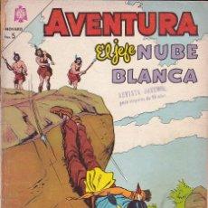 Tebeos: COMIC COLECCION AVENTURA JEFE NUBE BLANCA Nº 344. Lote 179136810